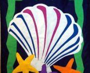 Shell & Seastars - Islander Flags