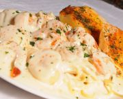Seafood Alfredo - Awful Arthur's Oyster Bar
