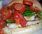 Grilled Snapper Sandwich - Miller's Waterfront Restaurant