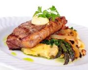 Grilled Angus Beef Tenderloin Or New York Strip - Ocean Boulevard Bistro & Martini Bar