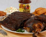 Chicken And Ribs Combo - Pigman's Bar-B-Que