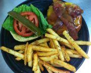 Bajan Burger - Tortugas' Lie Shellfish Bar and Grille