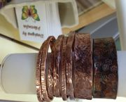 Hand-hammered Copper Bracelets - Yellowhouse Art Gallery