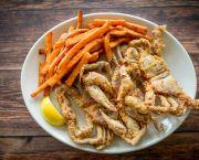 Fried Soft Crabs - Basnight's Lone Cedar