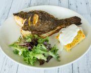 Fresh Whole Boneless Flounder With Jumbo Lump Crabmeat Stuffing & Dijon Beurre Blanc - Basnight's Lone Cedar
