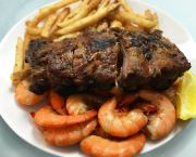 Steamed Shrimp & Rib Combo - Steamers