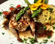 Twin Stuffed Quail - Argyle's Sea Salt Grille