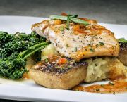 Cast-iron Atlantic Salmon - Rooster's Southern Kitchen