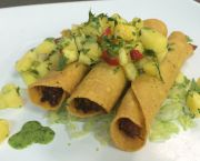 Duck Taquitos - Bad Bean Baja Grill