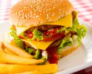 Hamburger - OBX Bowling Center, Nags Head Outer Banks