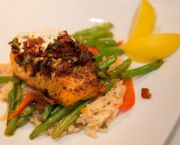Salmon Mediterranean - Kelly's Outer Banks Restaurant & Tavern