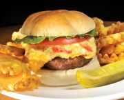 Pimento Cheese & Bacon Burger - The Dunes