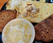 Jumbo Lump Crabmeat Omelette - Stack'em High