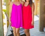 Babydoll Mini Dress - Foxy Flamingo Boutique
