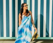 Beach Please Tie Dye Maxi Dress - Foxy Flamingo Boutique