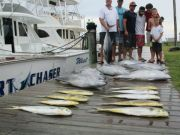 Oregon Inlet Fishing Center, Waiting with Baited Breath - Yellow Fin Tuna & Dolphin Catches!!