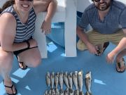 Miss Oregon Inlet Head Boat Fishing, Mullet Monday