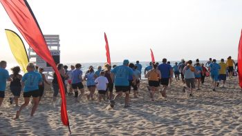 Jennette's Pier, 9th annual Sunrise 5k/1 Mile Beach Run
