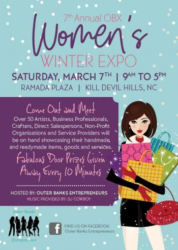 Ramada Plaza Nags Head Oceanfront, Women's Winter Expo