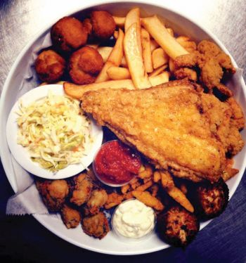 Jimmy's Seafood Buffet, Fried Seafood Platters - Carry Out