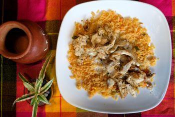 La Fogata Mexican Restaurant Kitty Hawk, Arroz con Pollo