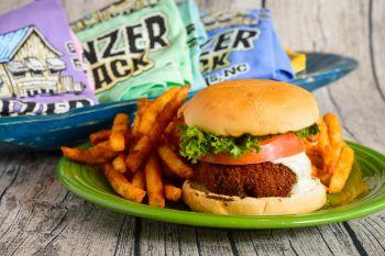 Bonzer Shack Bar & Grill, Crabby Pattie