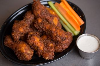 Two Roads Tavern, Nashville Style Hot Chicken Wings