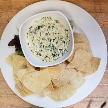 Outer Banks Brewing Station, Spinach, Crab and Artichoke Dip
