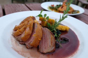 Ocean Boulevard Bistro & Martini Bar, Pan Roasted Duck Breast
