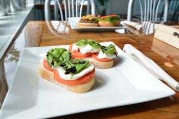 Freshfit Cafe Nags Head, Tomato Mozz Toast