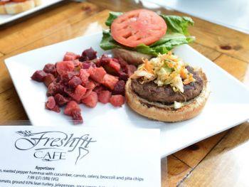 Freshfit Cafe Nags Head, Turkey Burger