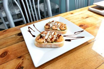Freshfit Cafe Nags Head, Shrimp Toast