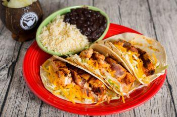 Bonzer Shack Bar & Grill, Fresh Fish Tacos