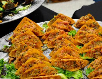 Chilli Peppers Grill & Pupuseria, Tuna Tartare Tacos