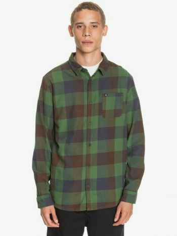 Birthday Suits, Quiksilver Motherfly Flannel