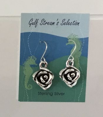 Gulf Stream Gifts, Rose Earrings