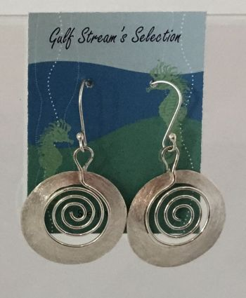 Gulf Stream Gifts, Spiral Earrings