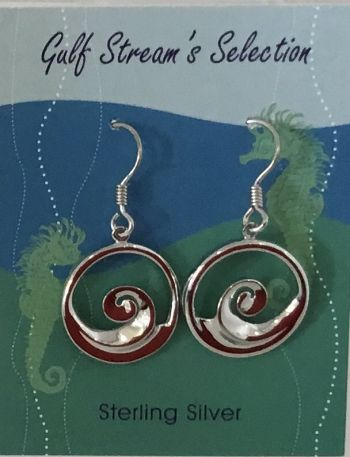 Gulf Stream Gifts, Wave earrings
