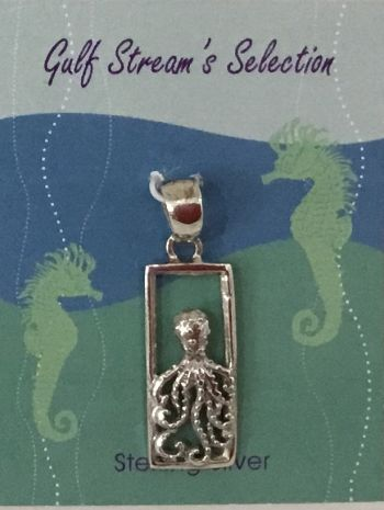 Gulf Stream Gifts, Kraken pendant (rectangle)