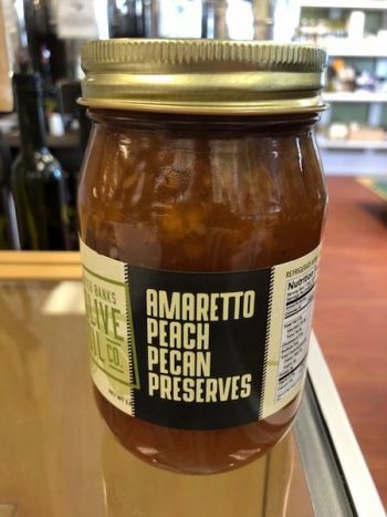 Outer Banks Olive Oil Co., Amaretto Peach Pecan Preserves