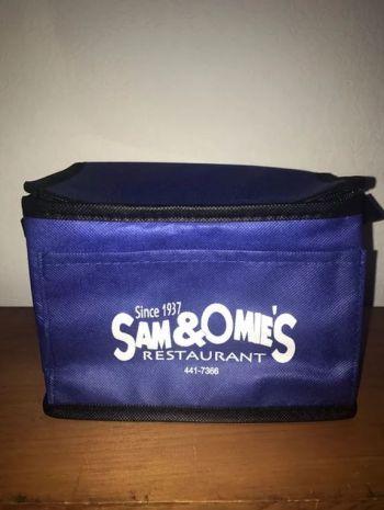 Sam & Omie's Restaurant, Sam & Omie's Cooler Bag