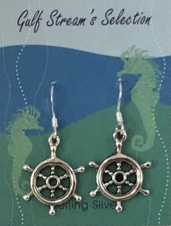 Gulf Stream Gifts, Ship wheel earrings