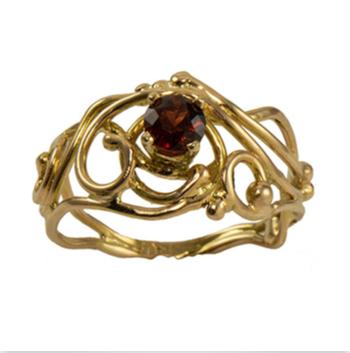 Jewelry By Gail, Malaya Garnet Ring