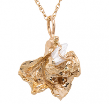 Jewelry By Gail, Mississippi River Pearl Splash Pendant