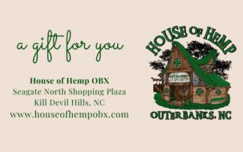 House of Hemp OBX, Gift Card