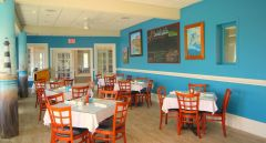 Beachside Bistro oceanfront dining room