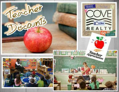 Discounted Nags Head Beach Rentals for Teachers