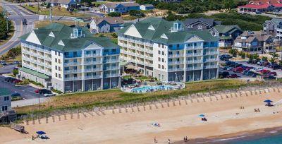 Aerial view of Hilton Garden Inn Outer Banks/Kitty Hawk