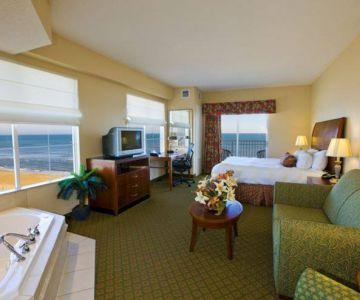 Oceanfront suite at Hilton Garden Inn Outer Banks/Kitty Hawk