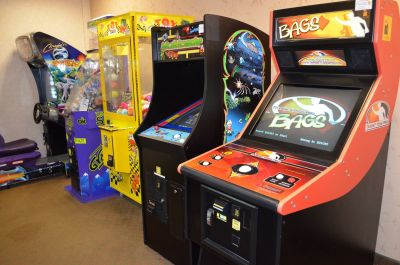 Game room at Hilton Garden Inn Outer Banks/Kitty Hawk